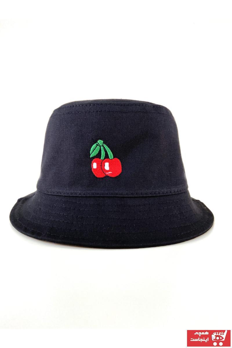 کلاه زنانه ارزان برند Femine رنگ مشکی کد ty113218949