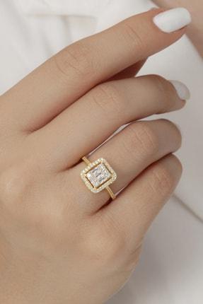انگشتر شیک برند Tmec Silver رنگ طلایی ty114136712
