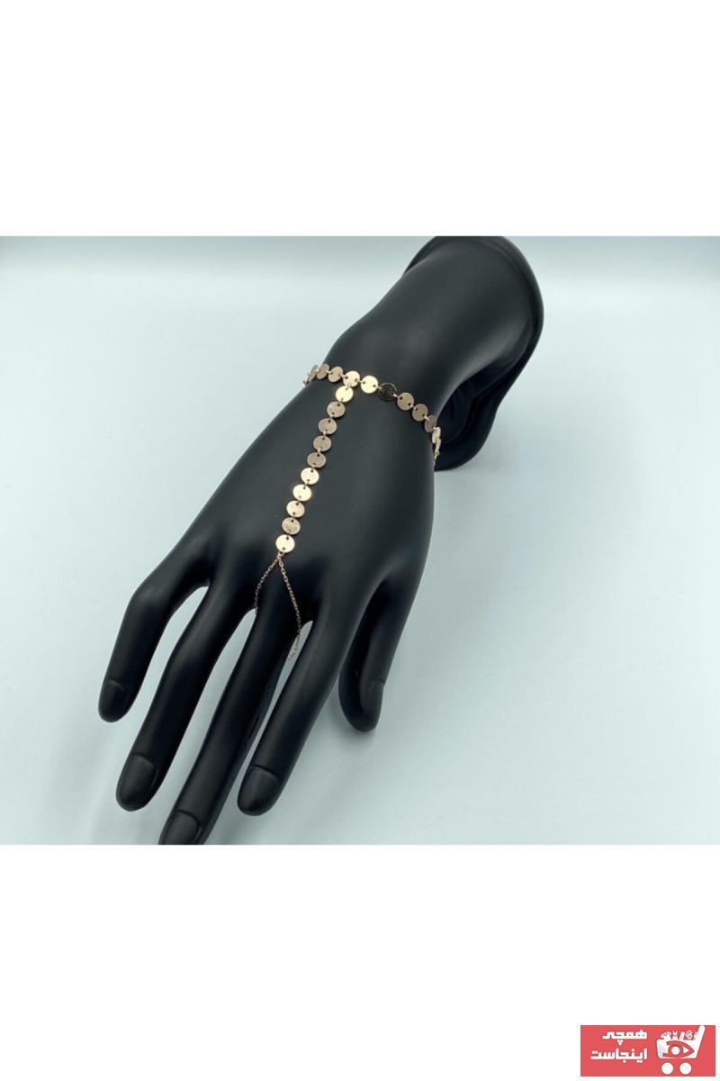 خرید دستبند انگشتی ارزانی برند Ahlem Silver رنگ طلایی ty117440021