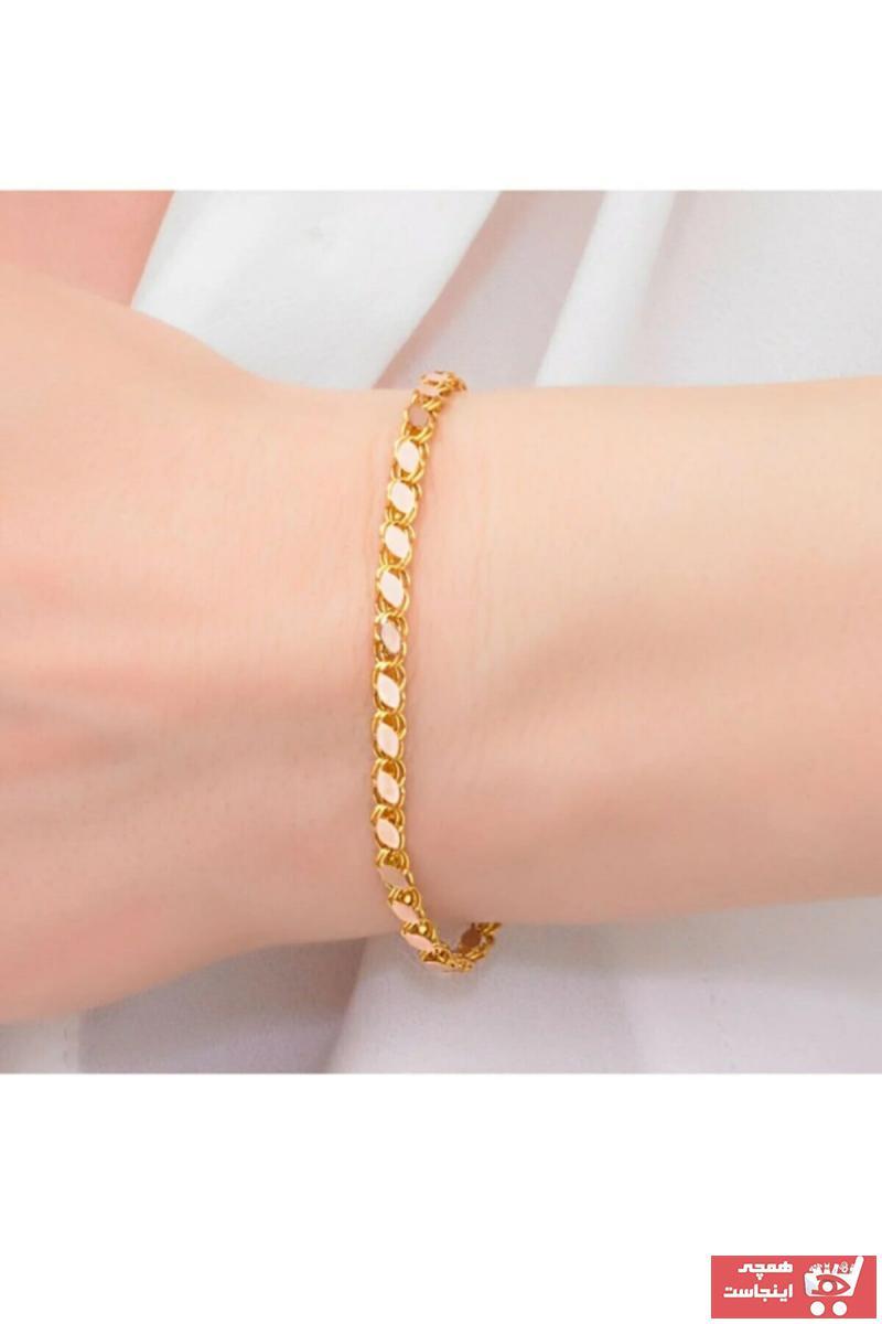 خرید انلاین دستبند طلا زنانه فانتزی برند MİLET KUYUMCULUK رنگ زرد ty120109577
