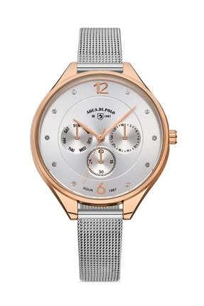 خرید نقدی ساعت مچی زنانه برند Aqua Di Polo 1987 رنگ نقره ای کد ty31906131