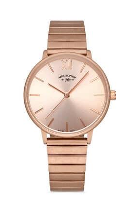 فروش پستی ساعت مچی زنانه  مارک Aqua Di Polo 1987 رنگ صورتی ty33245500