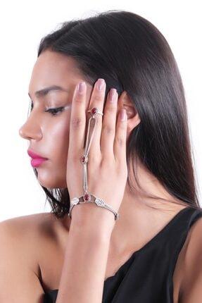 دستبند انگشتی زنانه اسپرت برند LABALABA رنگ زرشکی ty42333831