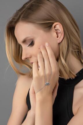 خرید دستبند انگشتی زنانه فانتزی برند Modex رنگ نقره کد ty42335967
