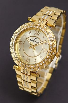 خرید ساعت زنانه ارزان برند Daniel Klein رنگ زرد ty46355549