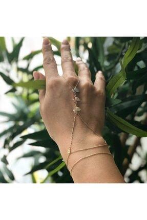 دستبند انگشتی زنانه 2021 برند Osmanlı Kuyumculuk رنگ طلایی ty72501174