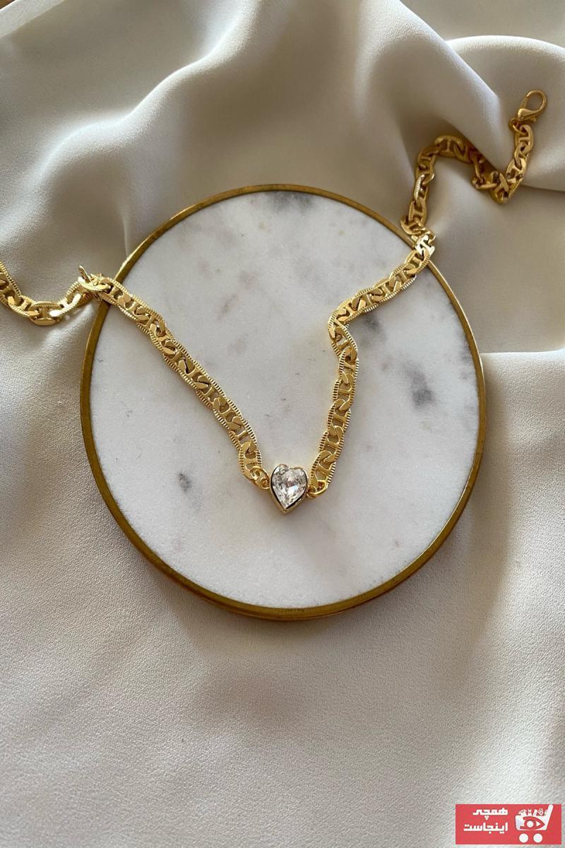 دستبند زنانه تابستانی برند gaila design رنگ طلایی ty87780458