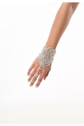 خرید نقدی دستبند انگشتی ارزان زنانه EliteWomans رنگ نقره کد ty88736948