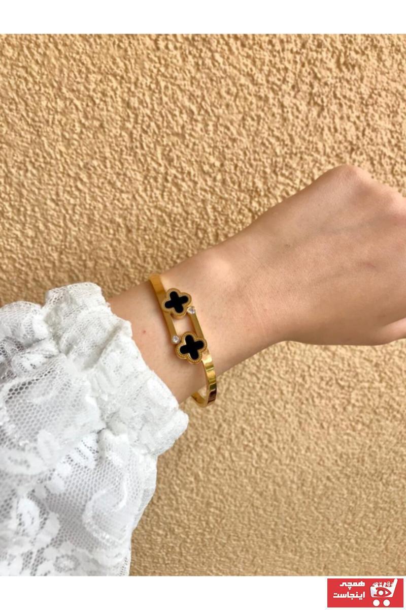 دستبند خفن برند Yasem accessories رنگ طلایی ty89846141