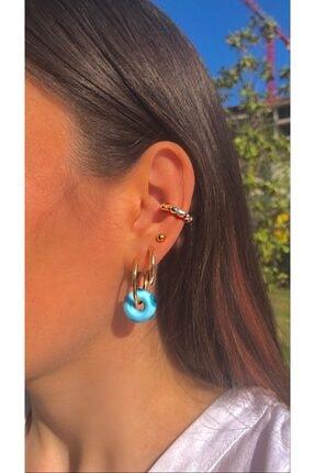 خرید انلاین گوشواره زیبا زنانه برند nezgah رنگ آبی کد ty107259944