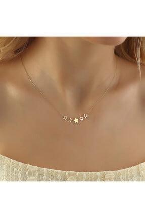 فروش گردنبند طلا زنانه شیک و جدید برند Glorria رنگ زرد ty112475998