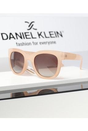 عینک آفتابی زنانه اسپرت جدید برند Daniel Klein رنگ بژ کد ty113150801