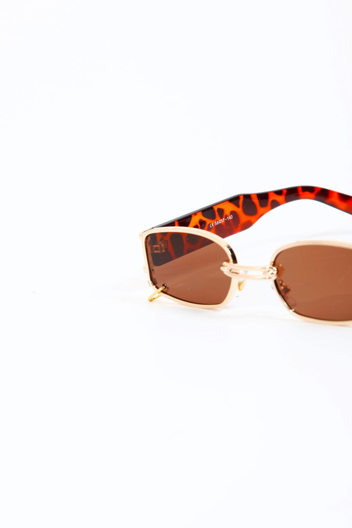 مدل عینک آفتابی 2020 برند Kapin رنگ قهوه ای کد ty117328819