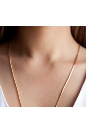 خرید گردنبند طلا زنانه شیک مجلسی برند Cenova Kuyumculuk رنگ طلایی ty117361116