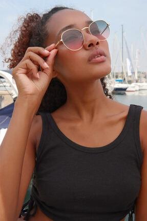 عینک آفتابی زنانه شیک برند Polo U.K. رنگ طلایی ty120125996