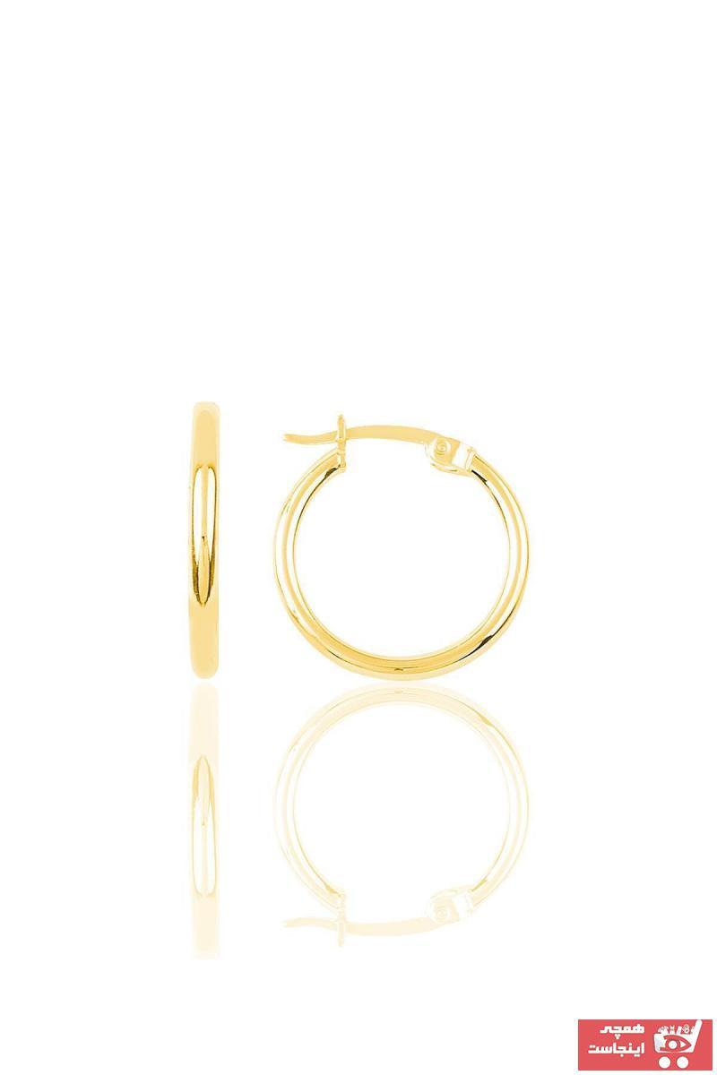 فروشگاه گوشواره زنانه سال 1400 برند Söğütlü Silver رنگ طلایی ty6242664