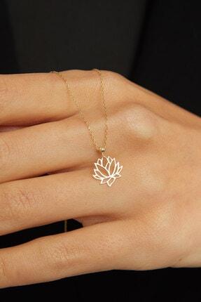 گردنبند طلا زنانه ترک برند Dialook Jewelry رنگ زرد ty87404862