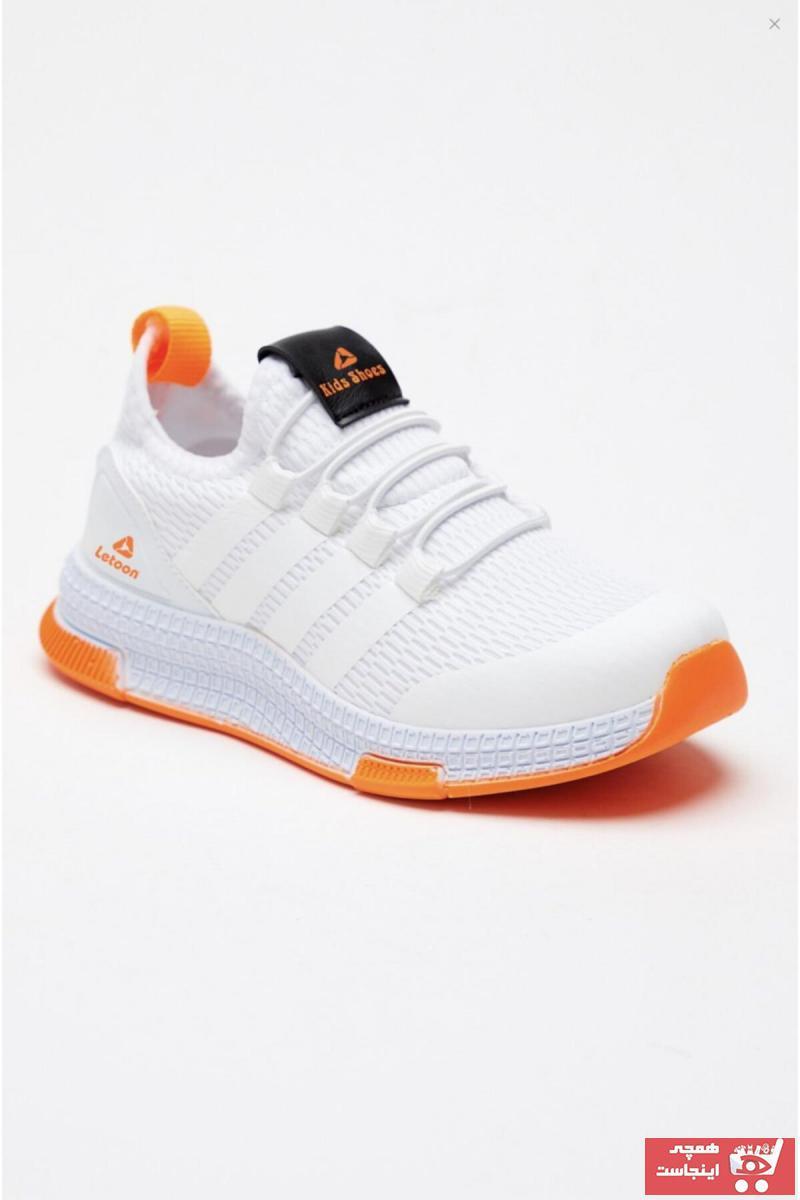 کفش اسپرت بچه گانه دخترانه ترک مجلسی برند LETOON کد ty104365606