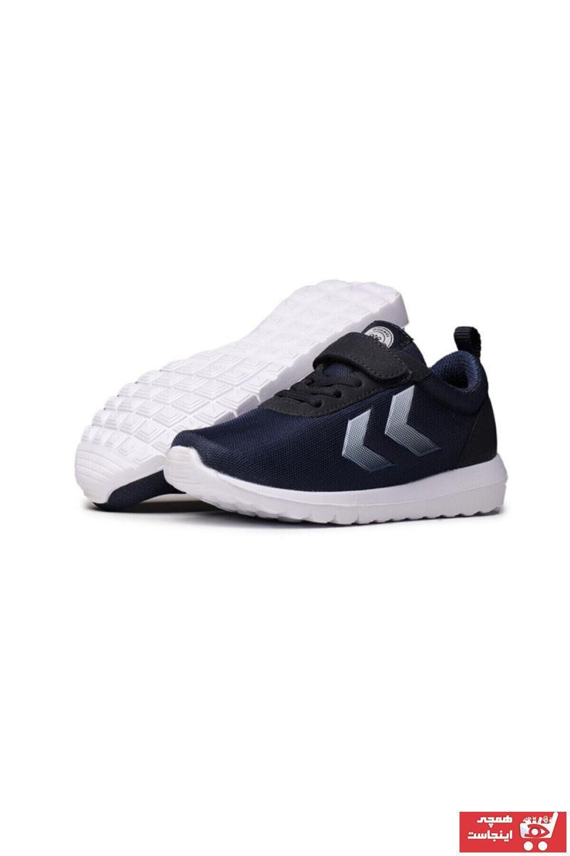 خرید  کفش اسپرت بچه گانه دخترانه مارک هومل رنگ لاجوردی کد ty35070613