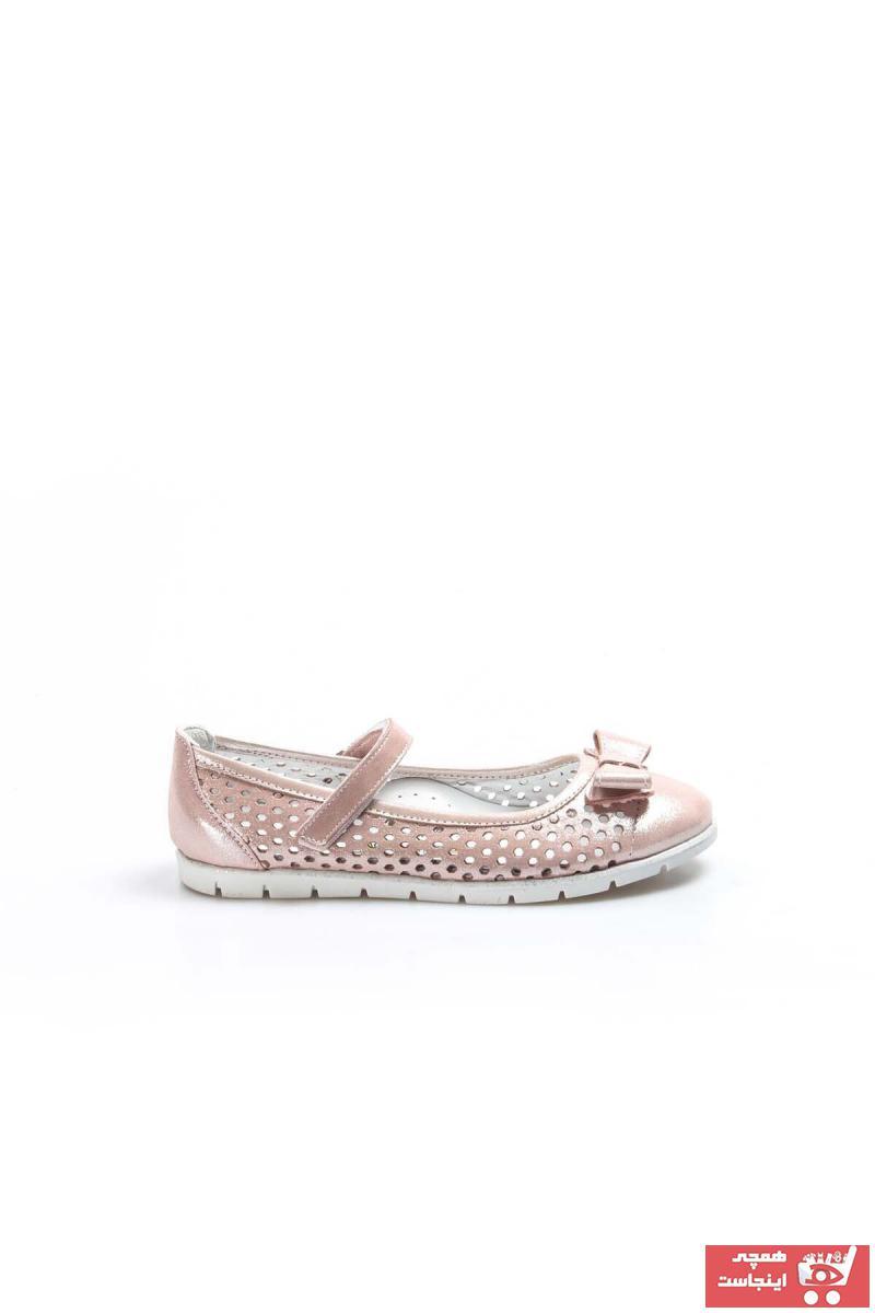 کفش تخت بچه گانه دخترانه خفن برند FAST STEP رنگ صورتی ty37308419