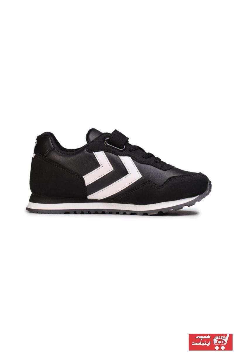 فروش کفش اسپرت بچه گانه دخترانه شیک و جدید برند هومل رنگ مشکی کد ty45751030