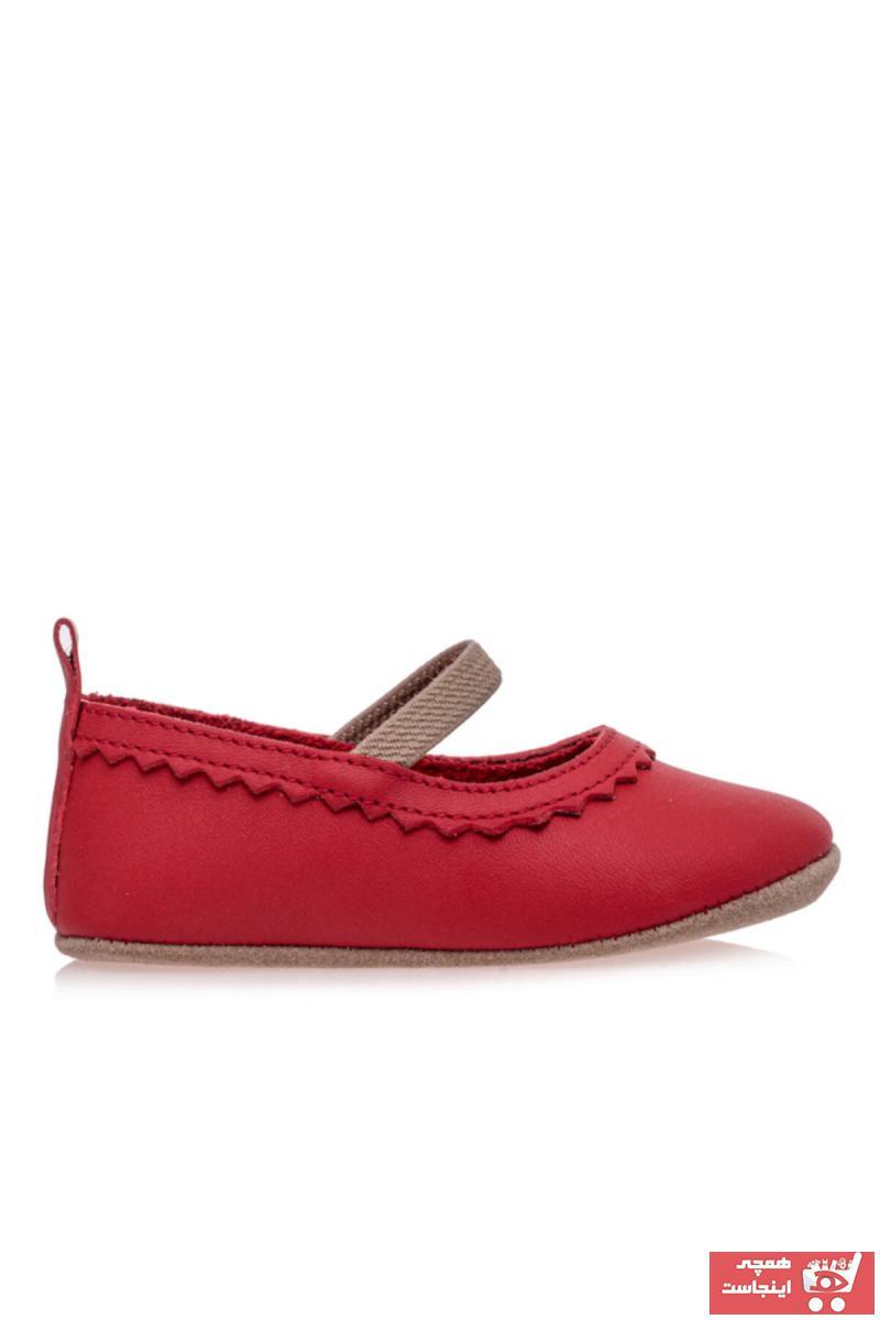 سفارش انلاین کفش تخت ساده برند Merli&Rose رنگ قرمز ty45789383