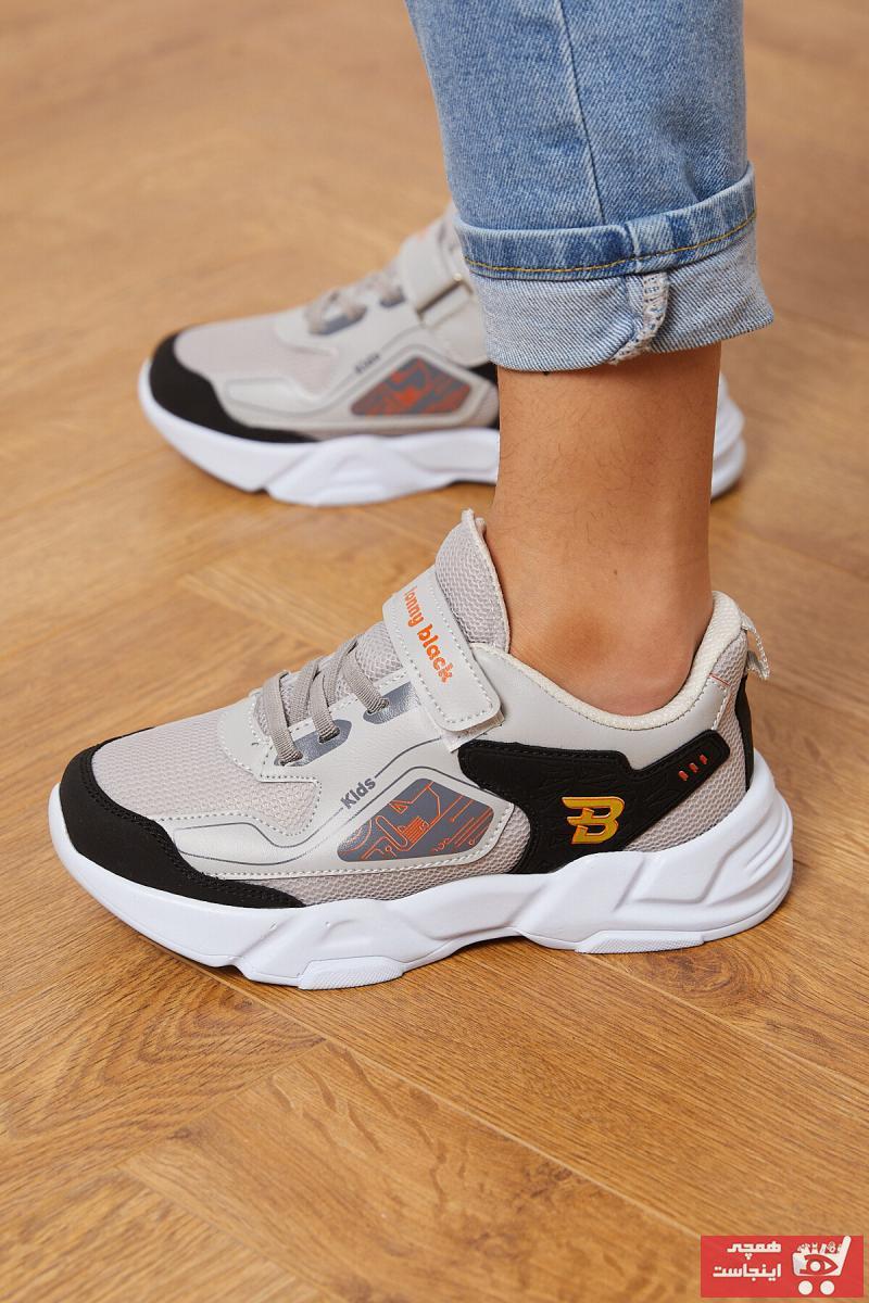 کفش اسپرت بچه گانه دخترانه کوتاه برند تونی بلک رنگ آبی کد ty87616979