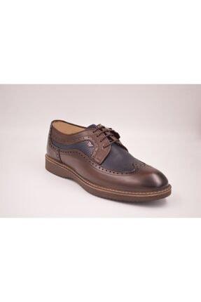 خرید نقدی کفش کلاسیک مردانه ترک برند White World رنگ قهوه ای کد ty102833047
