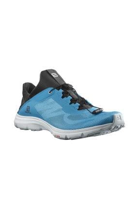 کفش کوهنوردی مردانه شیک و جدید برند Salomon رنگ آبی کد ty103588278