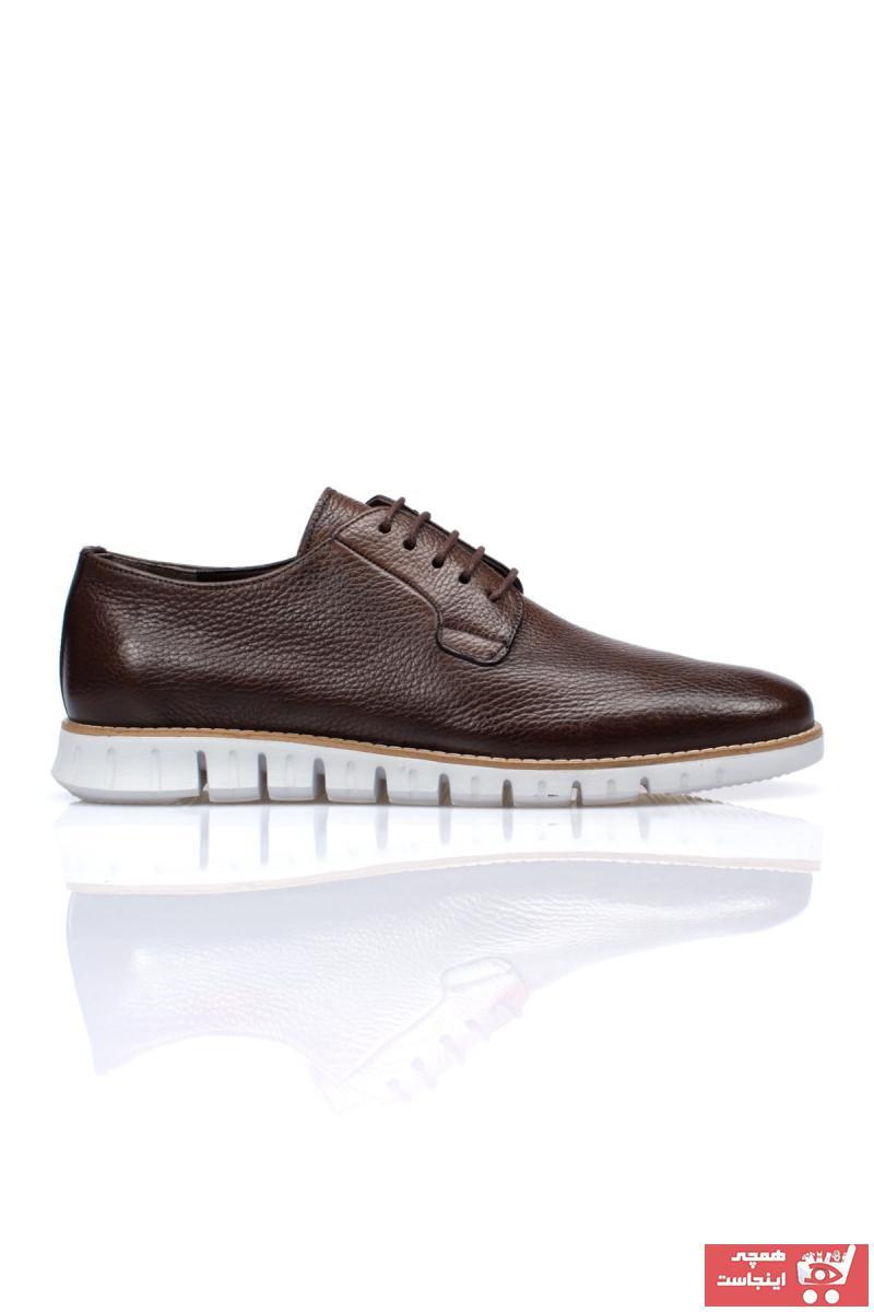 کفش کلاسیک ساده برند Alba رنگ قهوه ای کد ty105245160