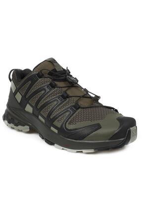 خرید پستی کفش مخصوص دویدن جدید برند Salomon رنگ خاکی کد ty108090222