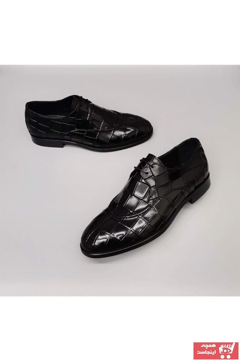 خرید انلاین کفش کلاسیک مردانه خاص برند CassidoShoes رنگ مشکی کد ty114860545