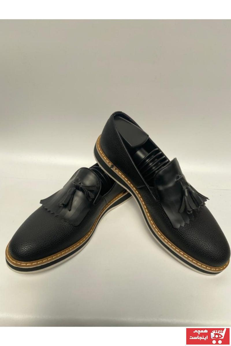 خرید انلاین کفش کلاسیک مردانه ترکیه برند By ÖRS shoes رنگ مشکی کد ty117069414