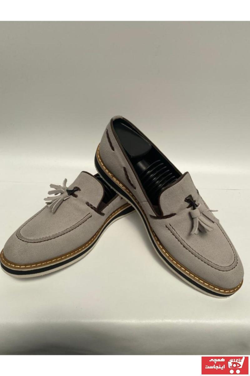 خرید انلاین کفش کلاسیک زیبا مردانه برند By ÖRS shoes رنگ بژ کد ty117097183