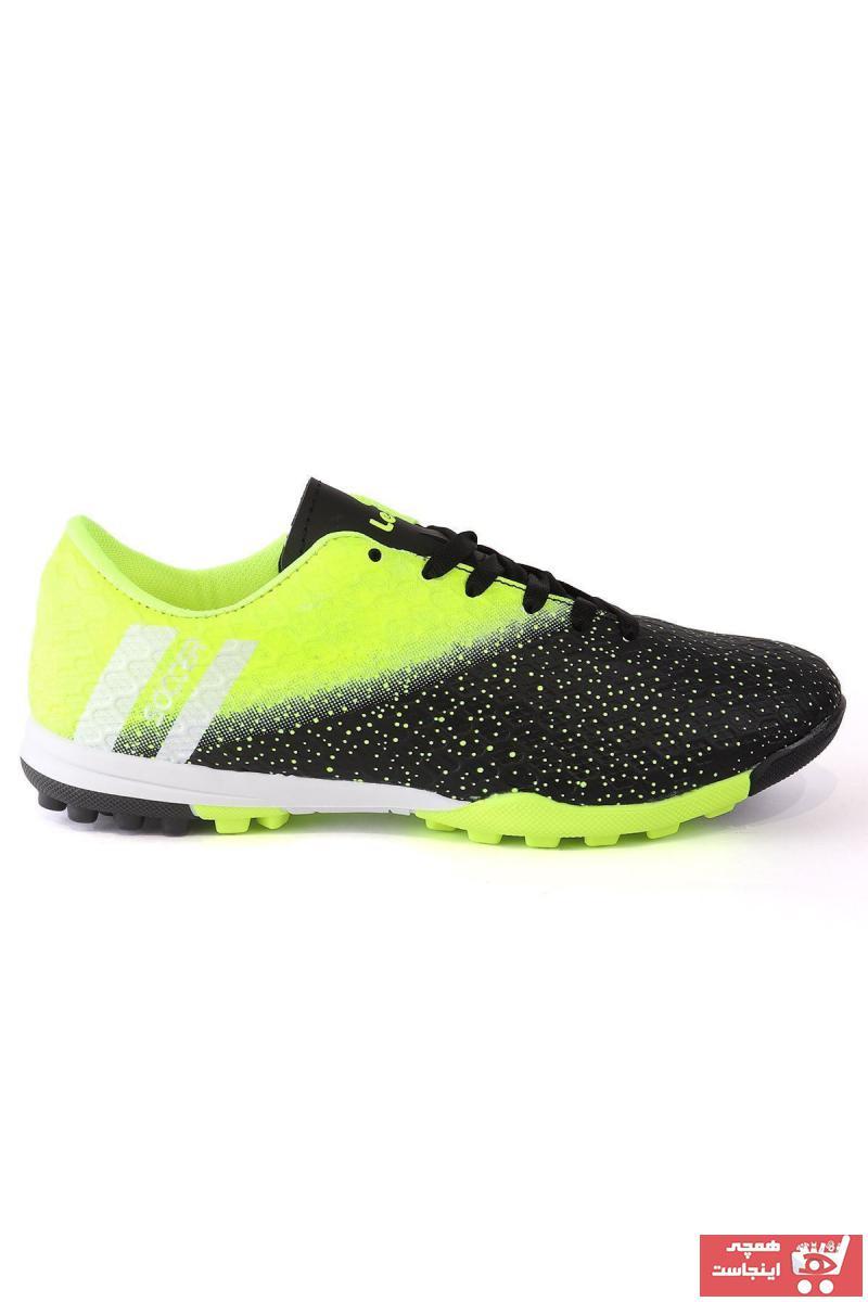 فروش کفش فوتبال مردانه حراجی برند LETOON رنگ مشکی کد ty34428215