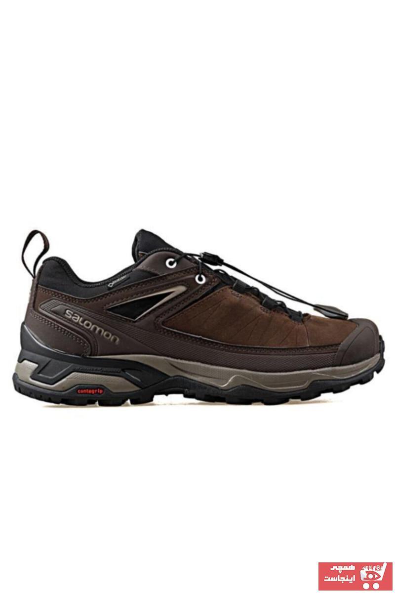 کفش کوهنوردی مردانه شیک برند Salomon رنگ قهوه ای کد ty3478292