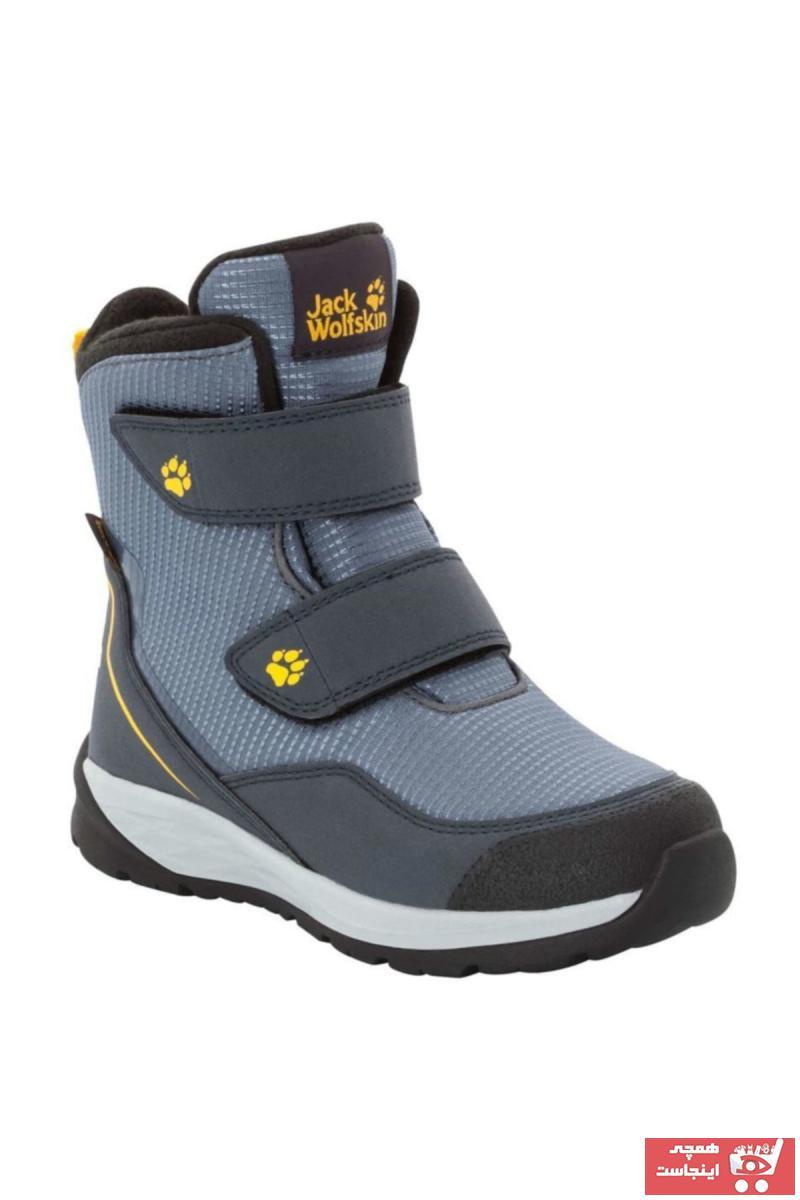 فروشگاه کفش کوهنوردی اورجینال برند Jack Wolfskin رنگ نقره ای کد ty34834581