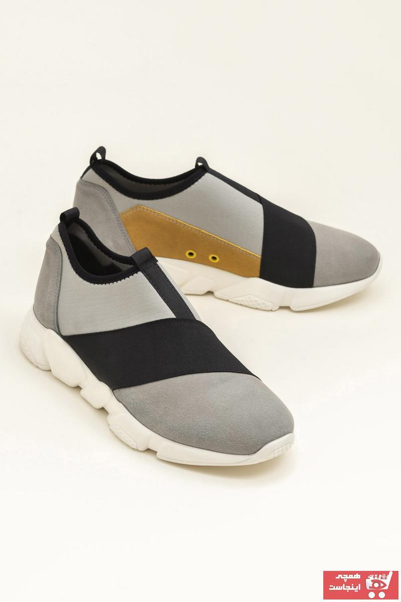 اسپرت مردانه طرح دار برند Elle Shoes رنگ نقره ای کد ty35000605