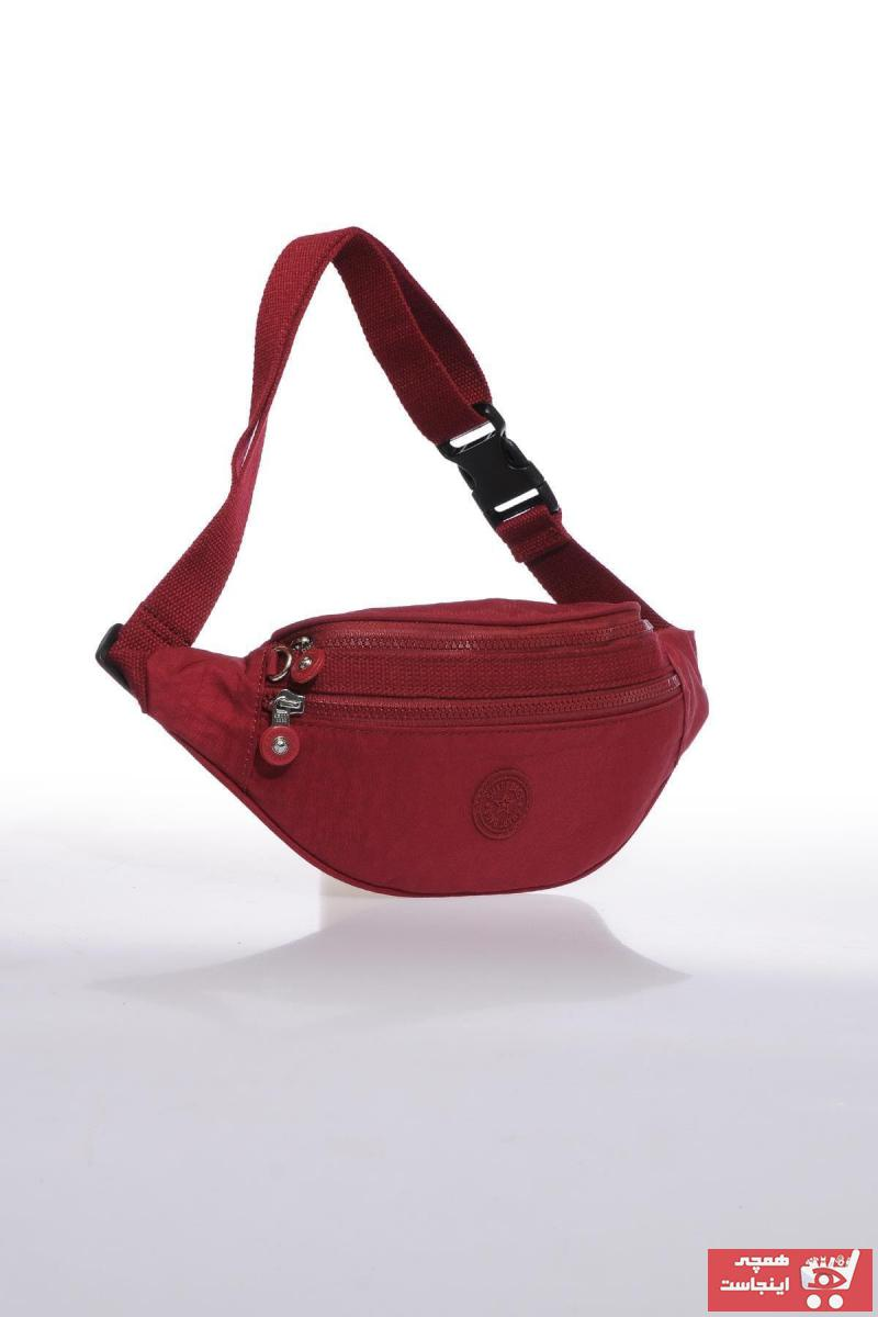کیف کمری اصل زنانه برند SMART BAGS رنگ زرشکی ty36507173