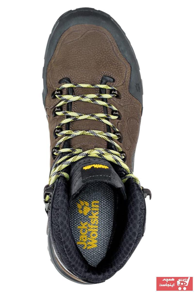 کفش کوهنوردی مردانه ترک  برند Jack Wolfskin رنگ قهوه ای کد ty3661114