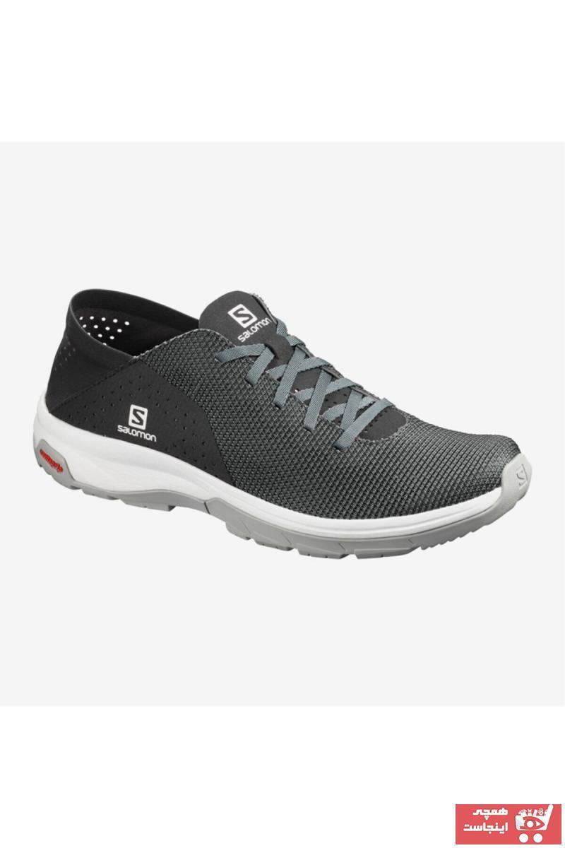 کفش کوهنوردی مردانه قیمت مناسب برند Salomon رنگ نقره ای کد ty36825646