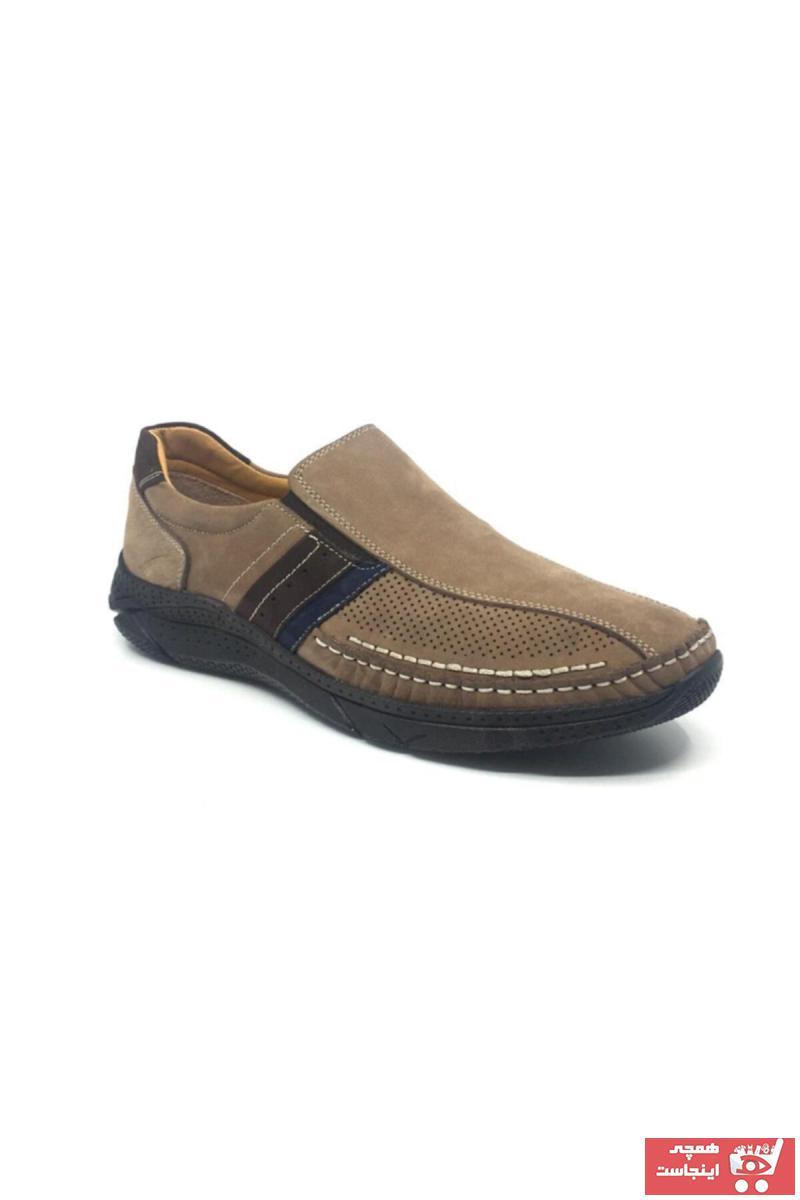 خرید انلاین کفش کلاسیک مردانه ترکیه برند Çetintaş رنگ بژ کد ty41734097