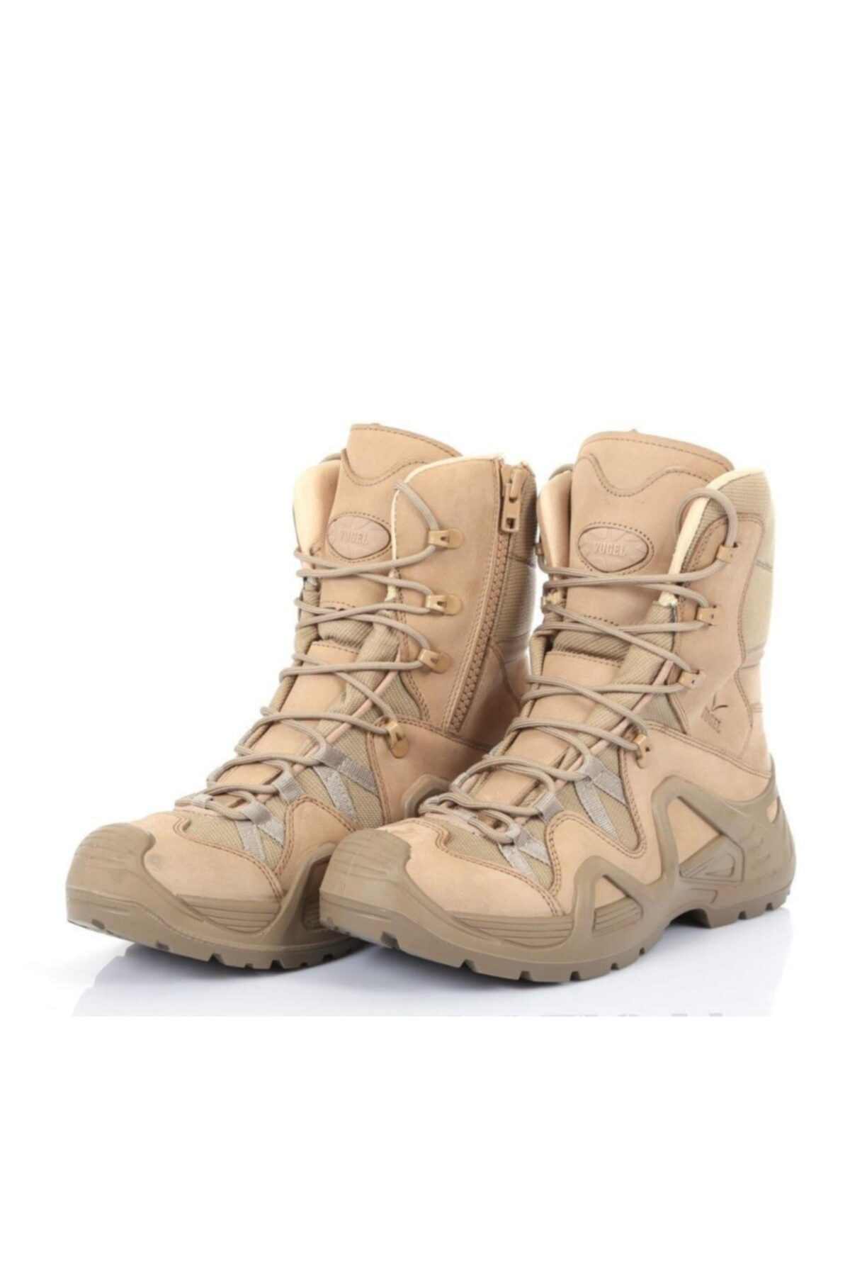 کفش کوهنوردی مردانه شیک مجلسی برند Vogel رنگ قهوه ای کد ty44270249