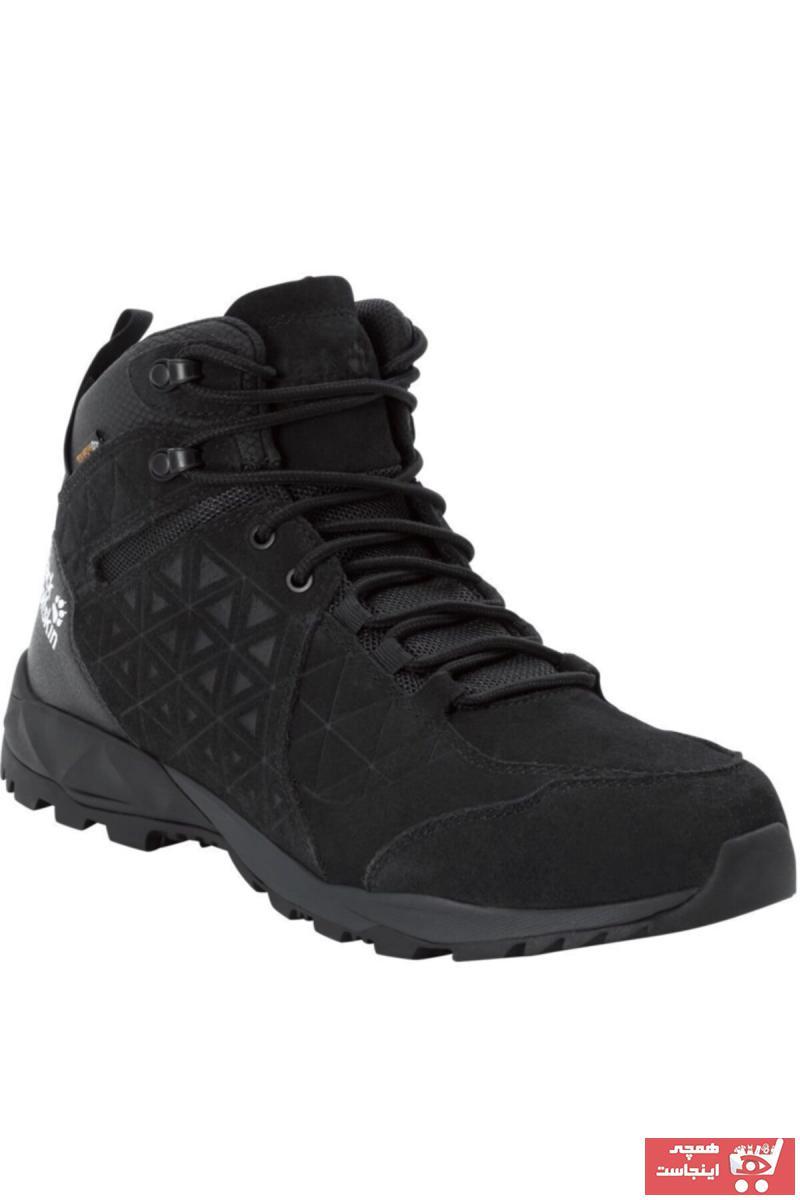 کفش کوهنوردی مردانه ترکیه برند Jack Wolfskin رنگ مشکی کد ty50329897