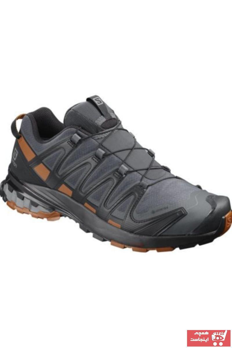 فروش اینترنتی کفش کوهنوردی مردانه با قیمت برند Salomon رنگ مشکی کد ty52136033