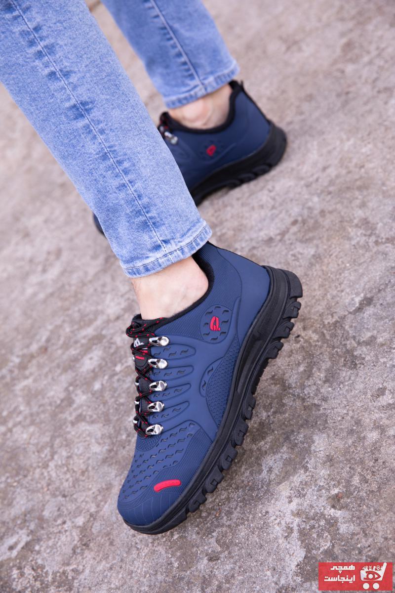 کفش کوهنوردی مردانه اینترنتی برند Soho-Men رنگ لاجوردی کد ty52222771