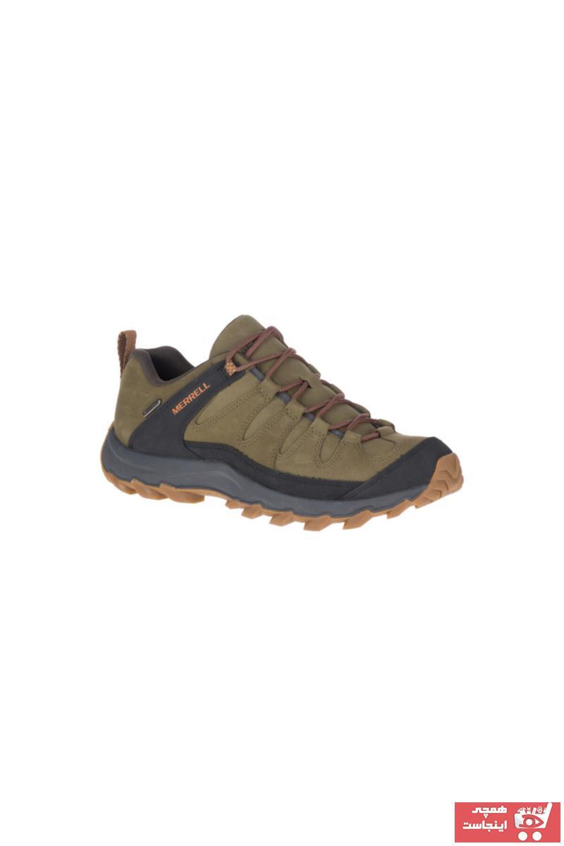 کفش کوهنوردی مردانه مدل دار برند Merrell رنگ سبز کد ty53623000