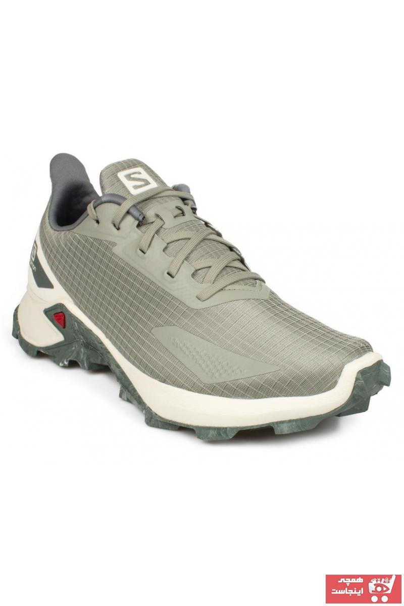کفش کوهنوردی مردانه ارزان برند Salomon رنگ سبز کد ty59092760