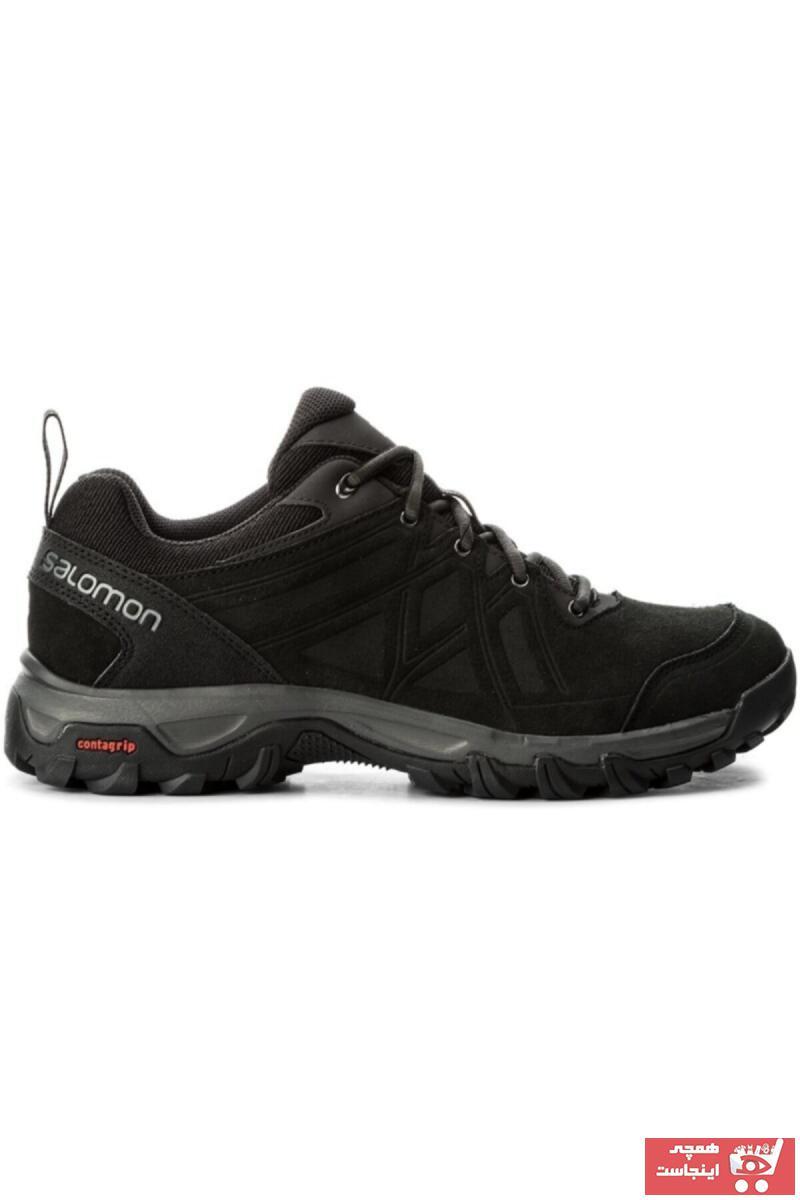 کفش کوهنوردی طرح دار برند Salomon رنگ مشکی کد ty59336236