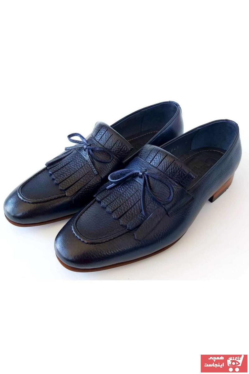 کفش کلاسیک فانتزی مردانه برند CassidoShoes رنگ لاجوردی کد ty72476823